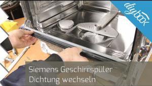 Embedded thumbnail for Siemens Geschirrspüler: Dichtung wechseln