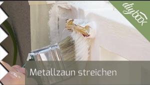 Embedded thumbnail for Metallzaun streichen