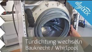 Embedded thumbnail for Waschmaschine: Türdichtung wechseln