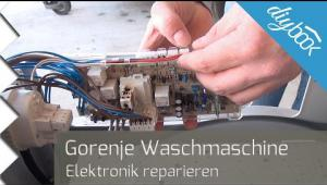 Embedded thumbnail for Gorenje-Waschmaschine reparieren: Die Elektronik