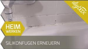 Embedded thumbnail for Silikonfuge im Bad erneuern