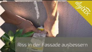 Embedded thumbnail for Risse in der Fassade ausbessern