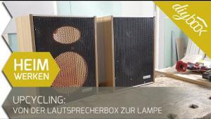 Embedded thumbnail for Upcycling: So werden kaputte Lautsprecher zu Design-Lampen!