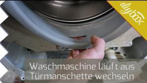 Embedded thumbnail for AEG Waschmaschine läuft aus - Türdichtung wechseln