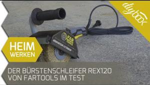 Embedded thumbnail for Produkttest: Der Bürstenschleifer REX 120 von FarTools