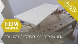 Embedded thumbnail for Frühstückstisch fürs Bett bauen
