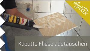Embedded thumbnail for Kaputte Fliese austauschen (mit Montagekleber)