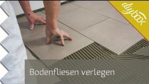 Embedded thumbnail for Bodenfliesen richtig verlegen