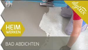 Embedded thumbnail for Badezimmerboden abdichten