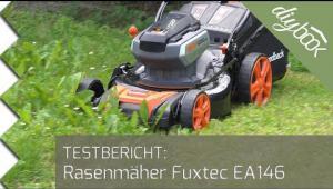 Embedded thumbnail for Akku-Rasenmäher im Test: Fuxtec EA 146