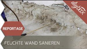 Embedded thumbnail for Reportage: Feuchte Wand sanieren