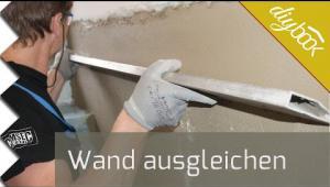 Embedded thumbnail for Wand ausgleichen