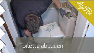 Embedded thumbnail for Toilette abbauen